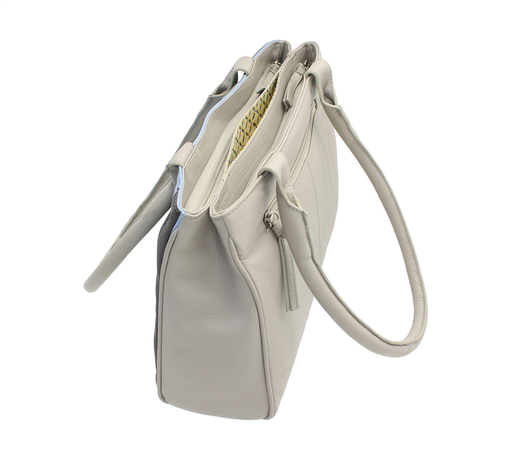 en bandouliᄄᄄre 89 Gris clair Sac Leather Mala Beau Collection 7123 PXkZiu