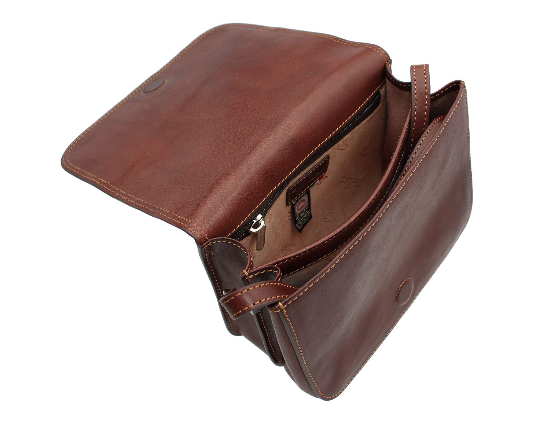9ec513cae5 Tony Perotti Full Grain Leather Messenger / Shoulder Bag 1818_1   eBay