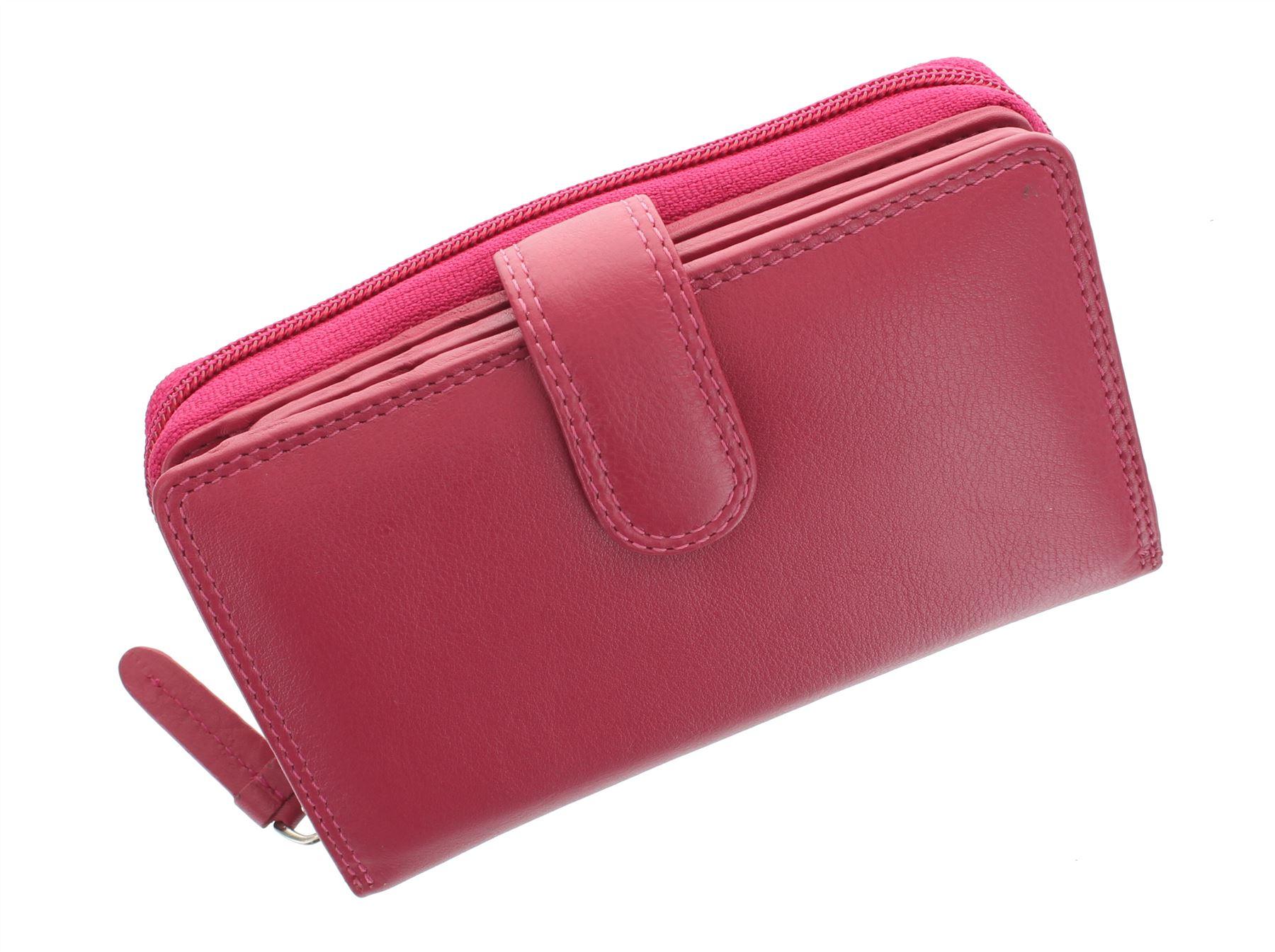Visconti-Heritage-Collection-MADAME-Leather-Purse-Tab-Closure-RFID-blocking-HT33 miniatura 17