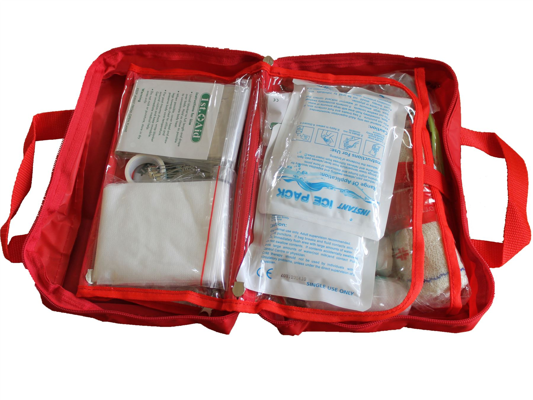 70 Pieces Luxury FIRST AID KIT Bag bd895a6e76fad