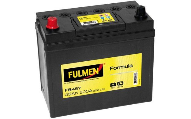 1.8 09// FN, FK Batterie Fulmen FA456 12V 45ah 390A  Honda Civic VIII Hatchback