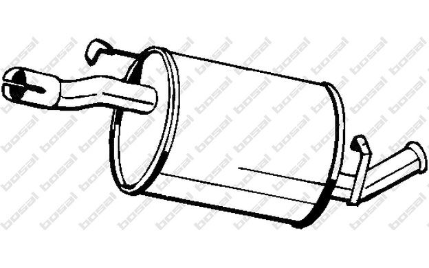 Pot d/'échappement Bride De Serrage Bride Pour VOLVO Systèmes d/'échappement avec Pâte de montage ø 60 mm