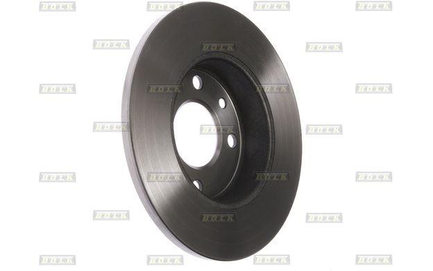 Détails sur 2x BOLK Disques de Frein Avant Plein 238mm pour RENAULT TWINGO  CLIO BOL-BD4705