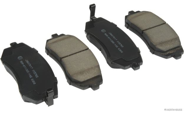 Details about 4x HERTH+BUSS JAKOPARTS Front Brake Pads for SUBARU LEGACY  J3607017