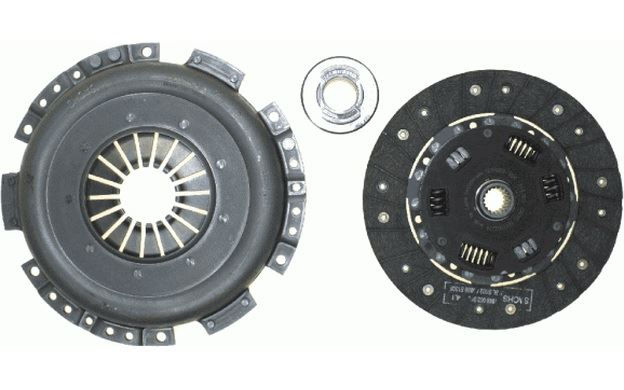 SACHS Kupplungssatz 215mm 19 Zähne für ALFA ROMEO GTV 3000 009 003 Mister Auto