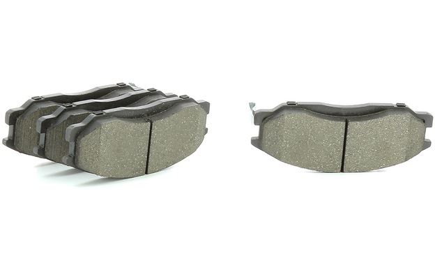 Brake Pads Set fits SSANGYONG RODIUS 2.7D Rear 2005 on D27DT QH Quality New