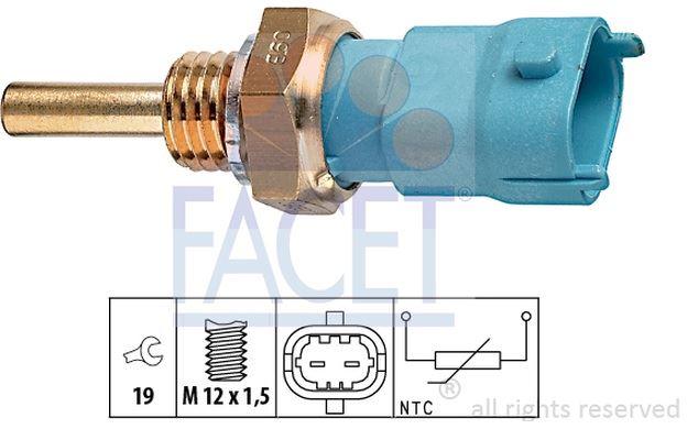 Details about FACET Oil Temperature Sensor for ALFA ROMEO 159 VAUXHALL  ASTRA CORSA 7 3239