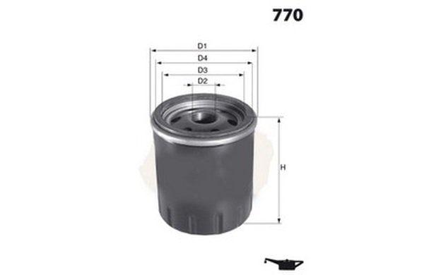 VAUXHALL ZAFIRA A 1.6 Oil Filter 00 to 05 B/&B 650104 5650343 55352643 93178952