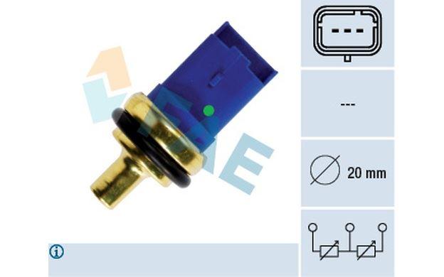 Air /& Refroidissement Fuel Parts WS1131 Sonde de Temperature