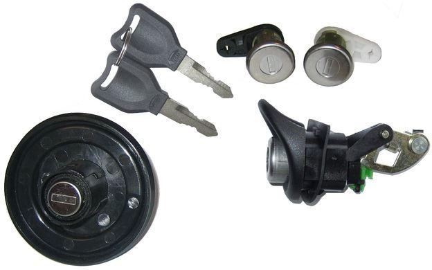 2 Set You s Réparation Serrure De Porte Cylindre De Verrouillage Avant Droite Pour Seat Leon 1m1