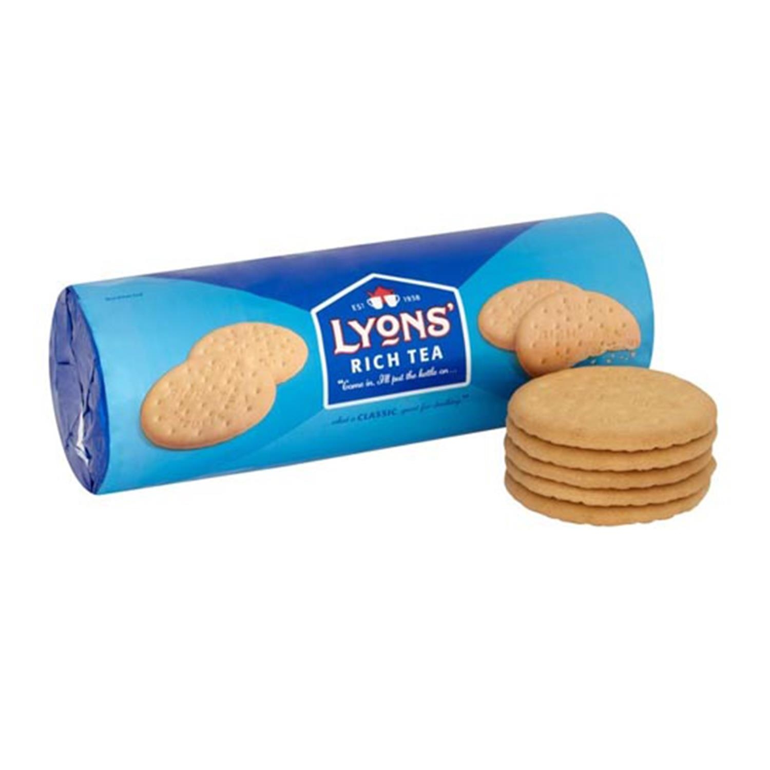 thumbnail 4 - Lyons Rich Tea Biscuits 300g, Great for a morning or afternoon snack