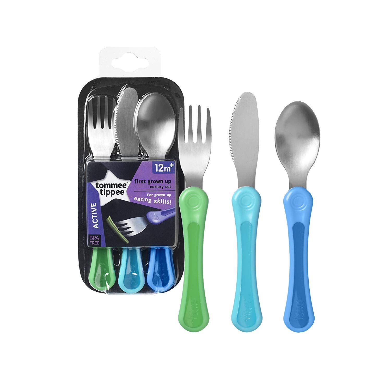 Tommee Tippee Explora 1st Grown Up Cutlery Set 3Pk