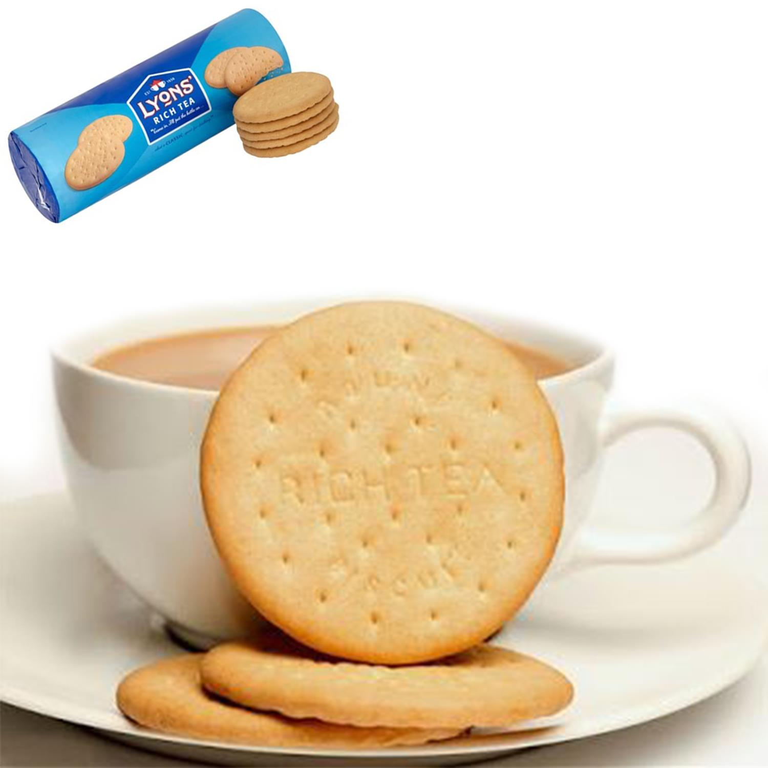 thumbnail 23 - Lyons Rich Tea Biscuits 300g, Great for a morning or afternoon snack