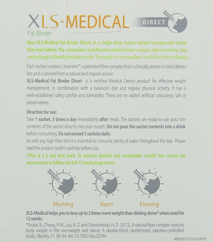 XLS Medical Berry Flavour Fat Binder Testpaket Zum