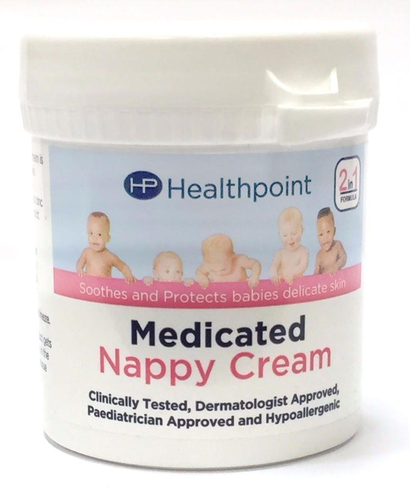 Healthpoint Everyday Use Nappy Cream 2 x 50g Soothes and Protects baby/'s skin