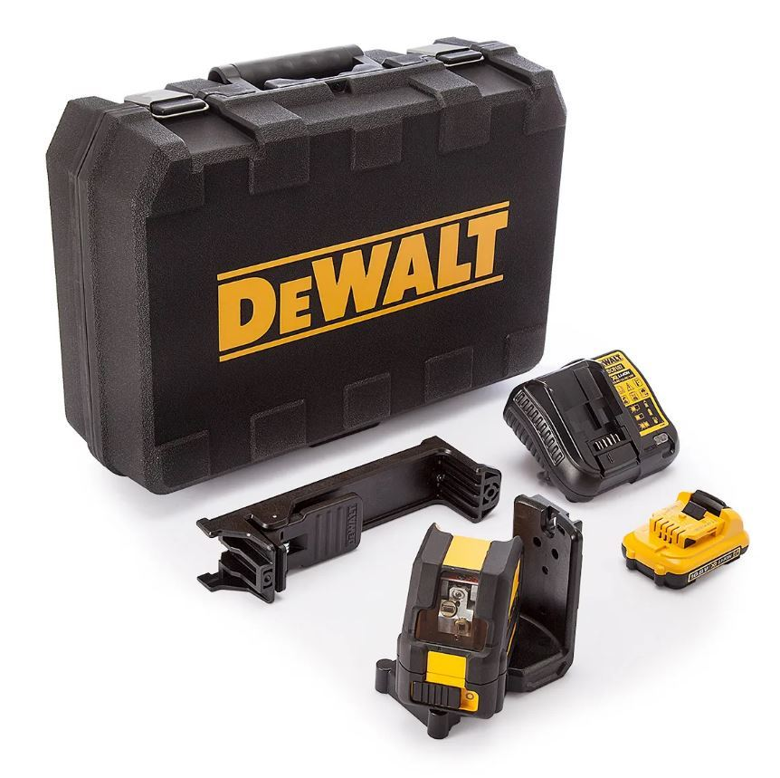 Details about DeWalt DCE088D1G 10 8v 2 0Ah Self Level Cross Line Laser  Green - DCE088D1G