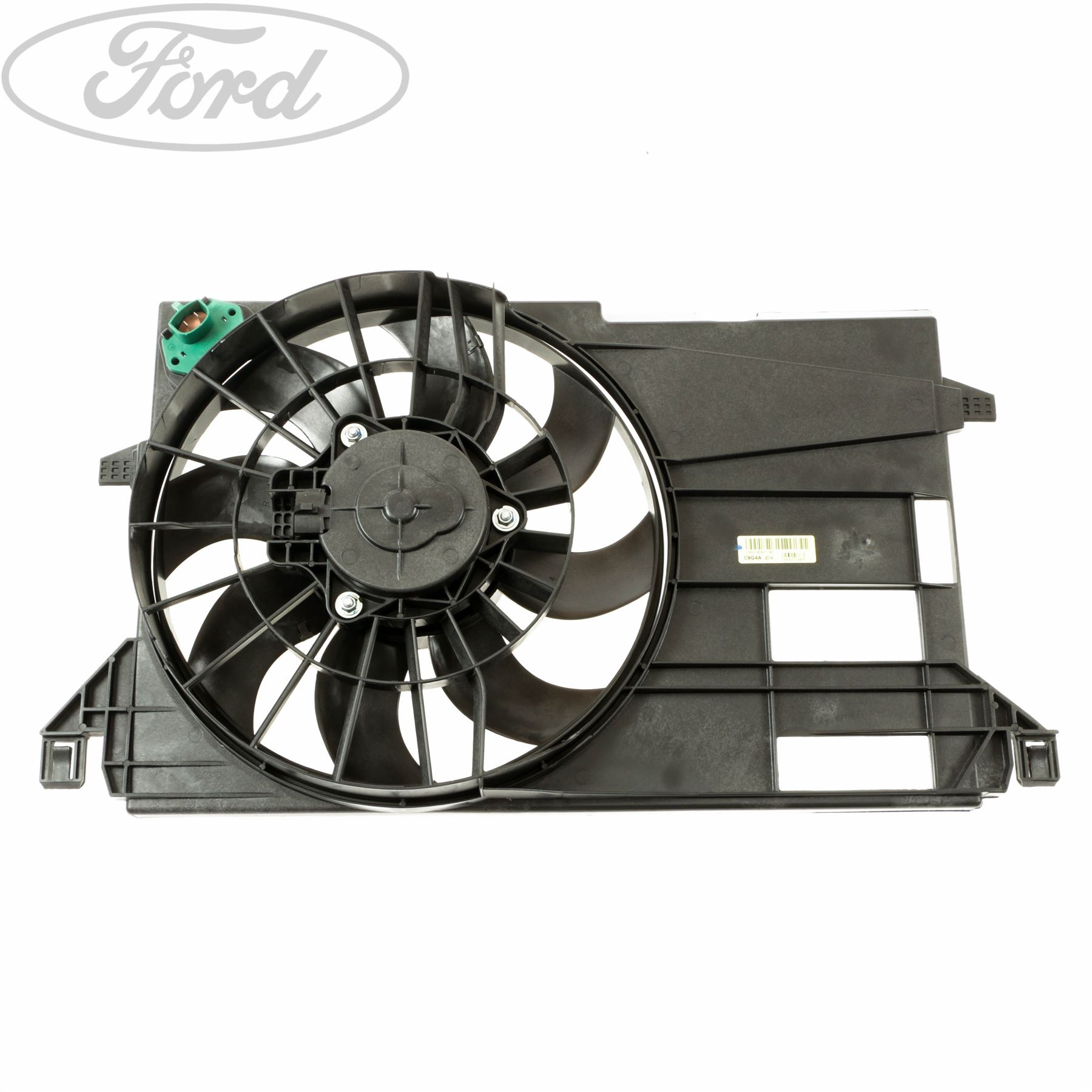 genuine ford fiesta mk6 fusion 1 6 tdci radiator fan. Black Bedroom Furniture Sets. Home Design Ideas