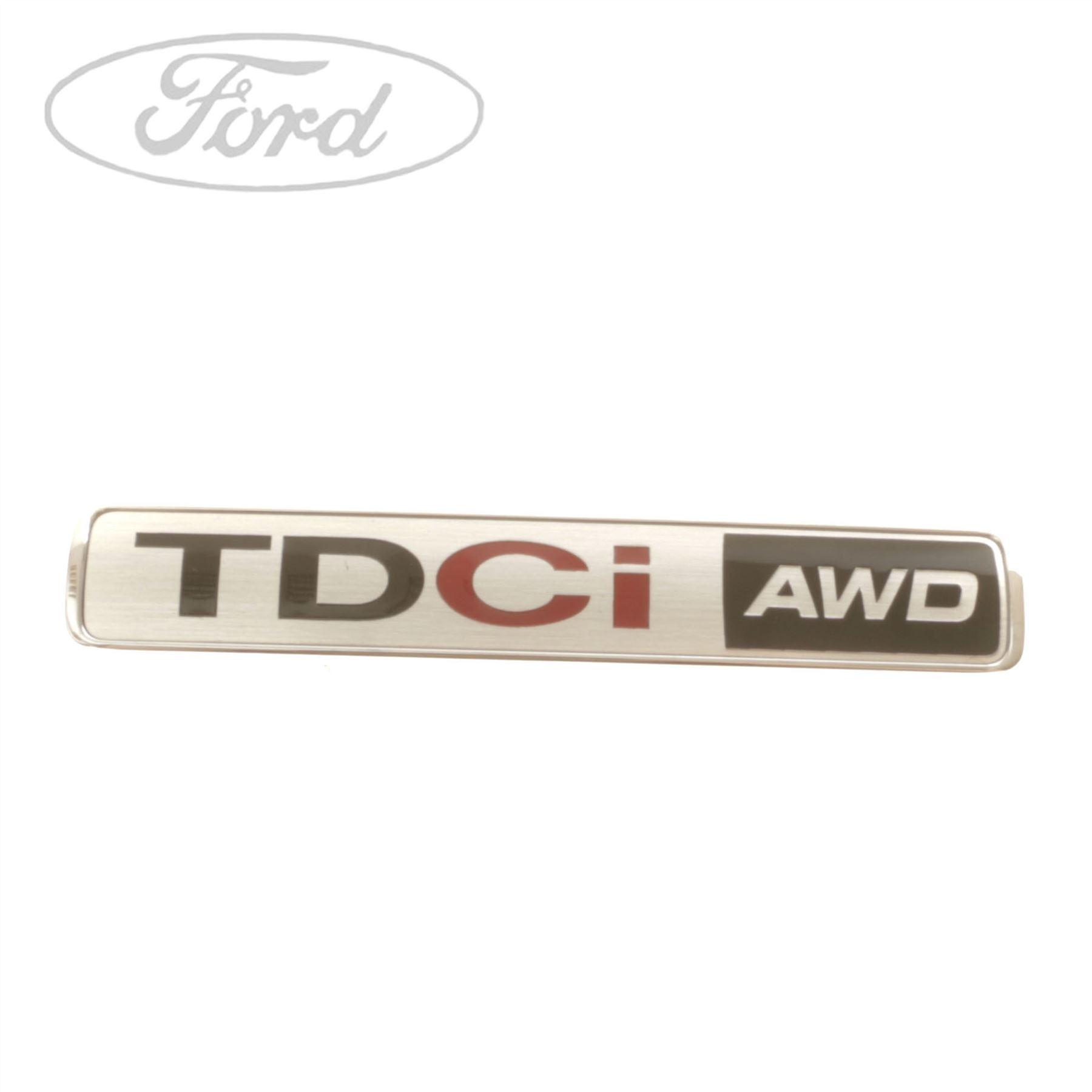 Genuine Ford Kuga 20 Tdci Awd Name Plate Badge Emblem Diesel Fuse Box 1798754