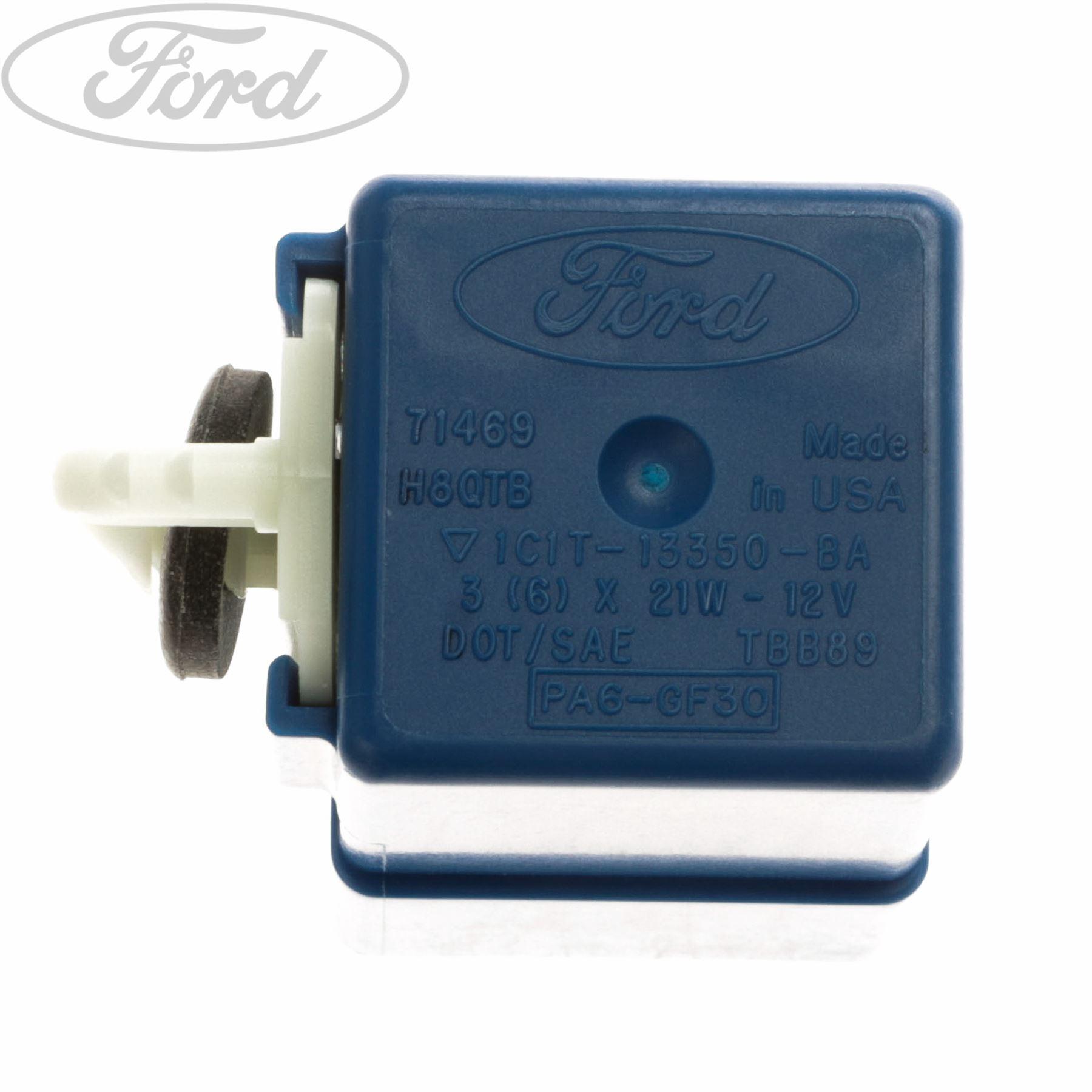Genuine Ford Transit Mk6 Indicator Hazard Flasher Relay 3 6 X 21w Fuse Box 4330629