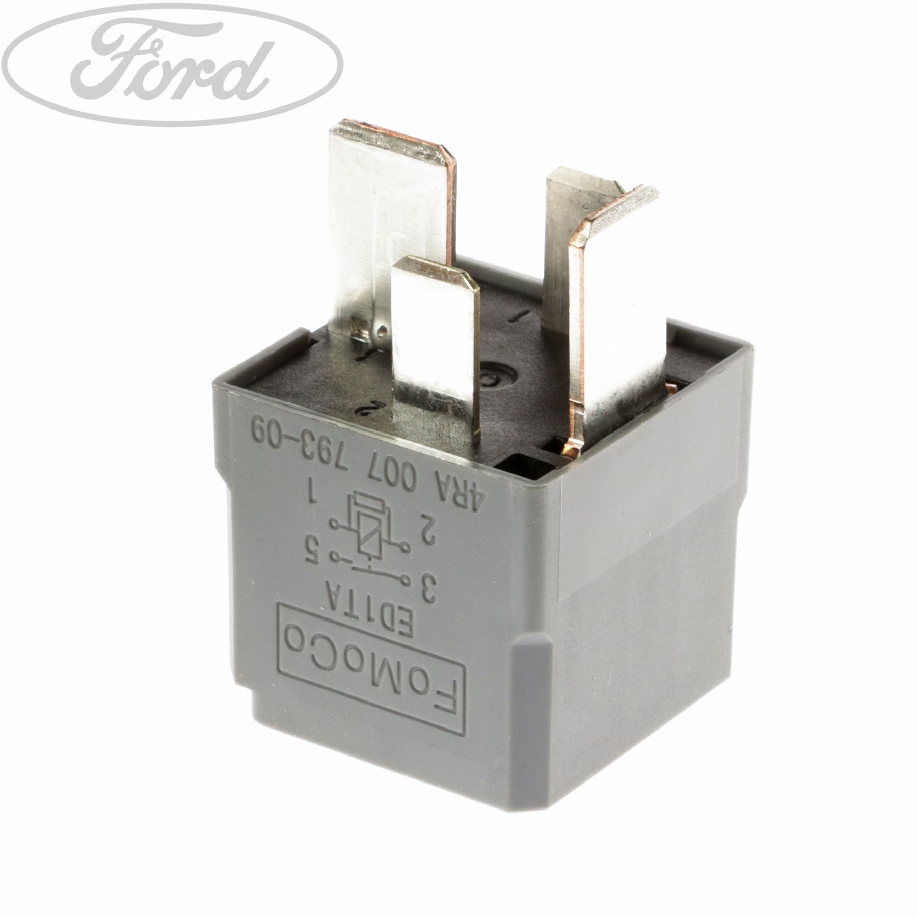 Genuine Ford Mondeo S Max Transit Mk7 Relay 70 Amp Hella Mini 4 2009 Focus Fuse Panel And Ampere Rating Table Terminal 1433498