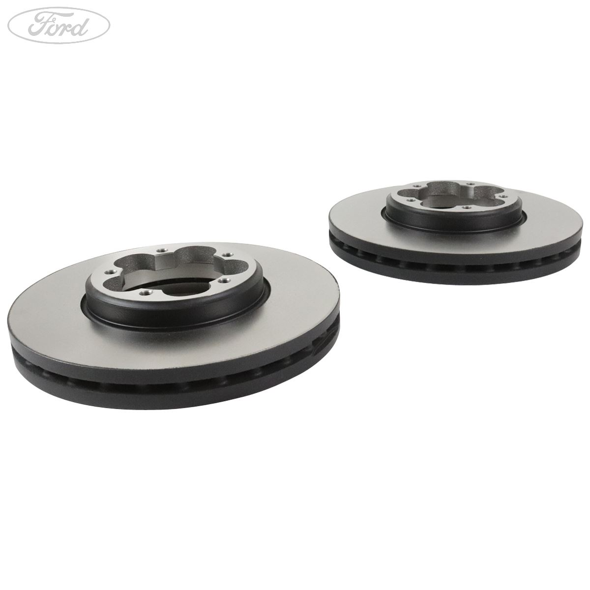 BRAND NEW GENUINE FORD TOURNEO CUSTOM 2016 /> FRONT BRAKE DISCS /& PAD SET