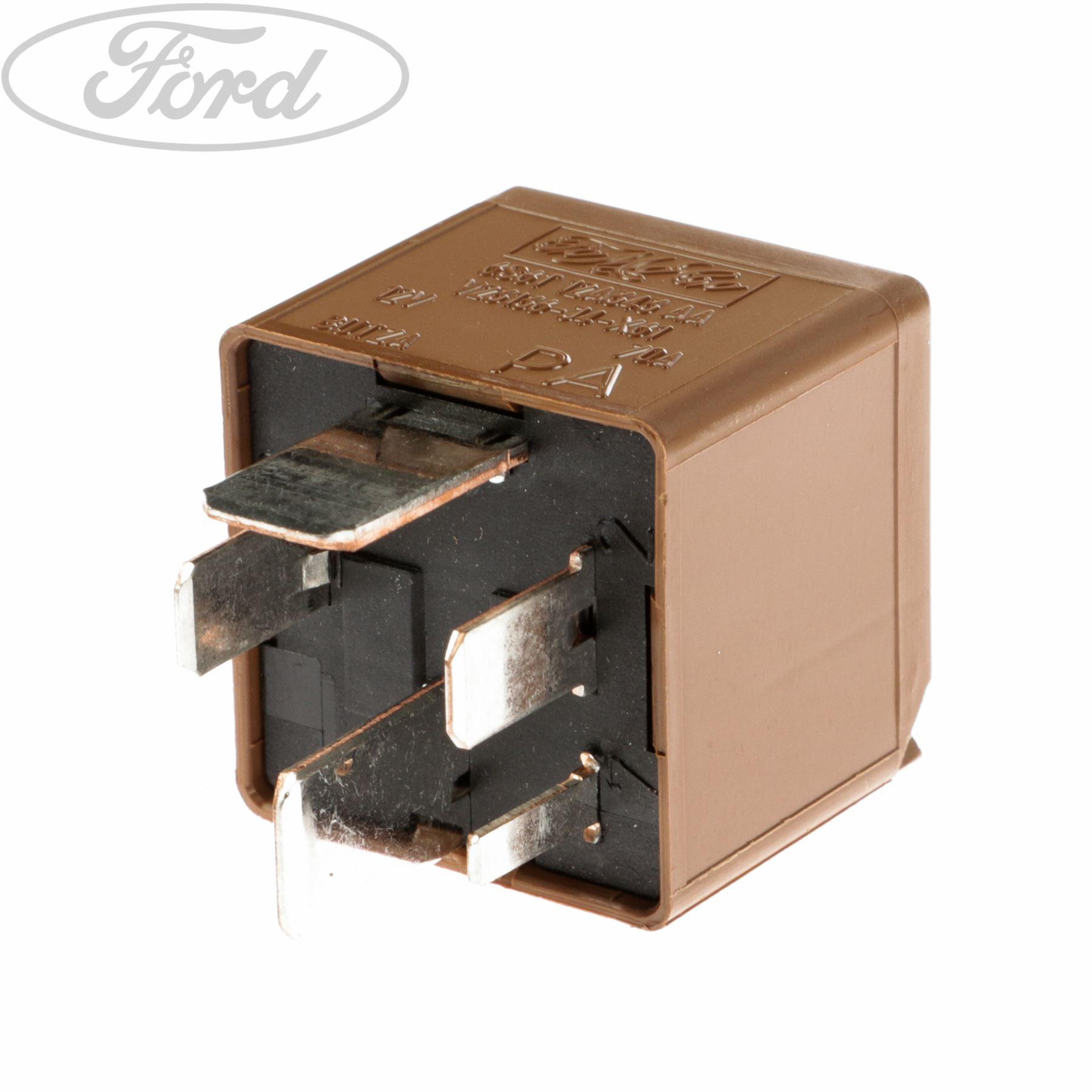 Genuine Ford Fiesta Mk5 Mk6 Heater Glow Plug Relay 5 Blade Mini Tyco 1435908