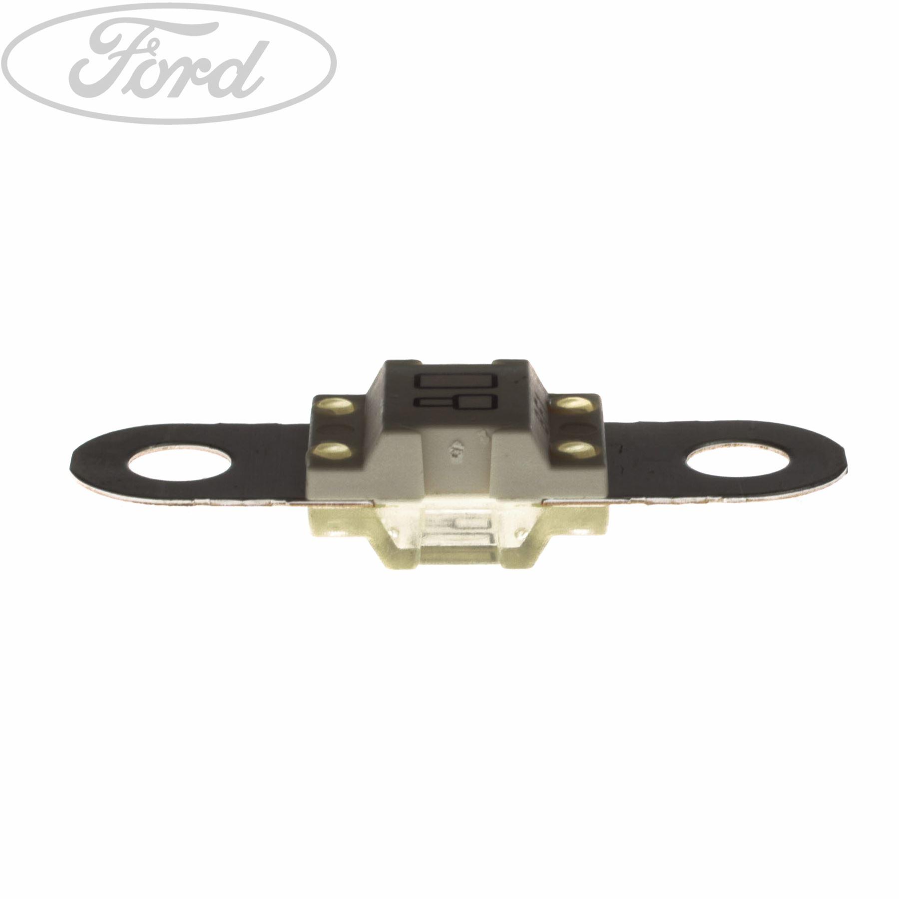 Genuine Ford Circuit Breaker 32 Volt 80 Amp Mega Fuse White 1148216