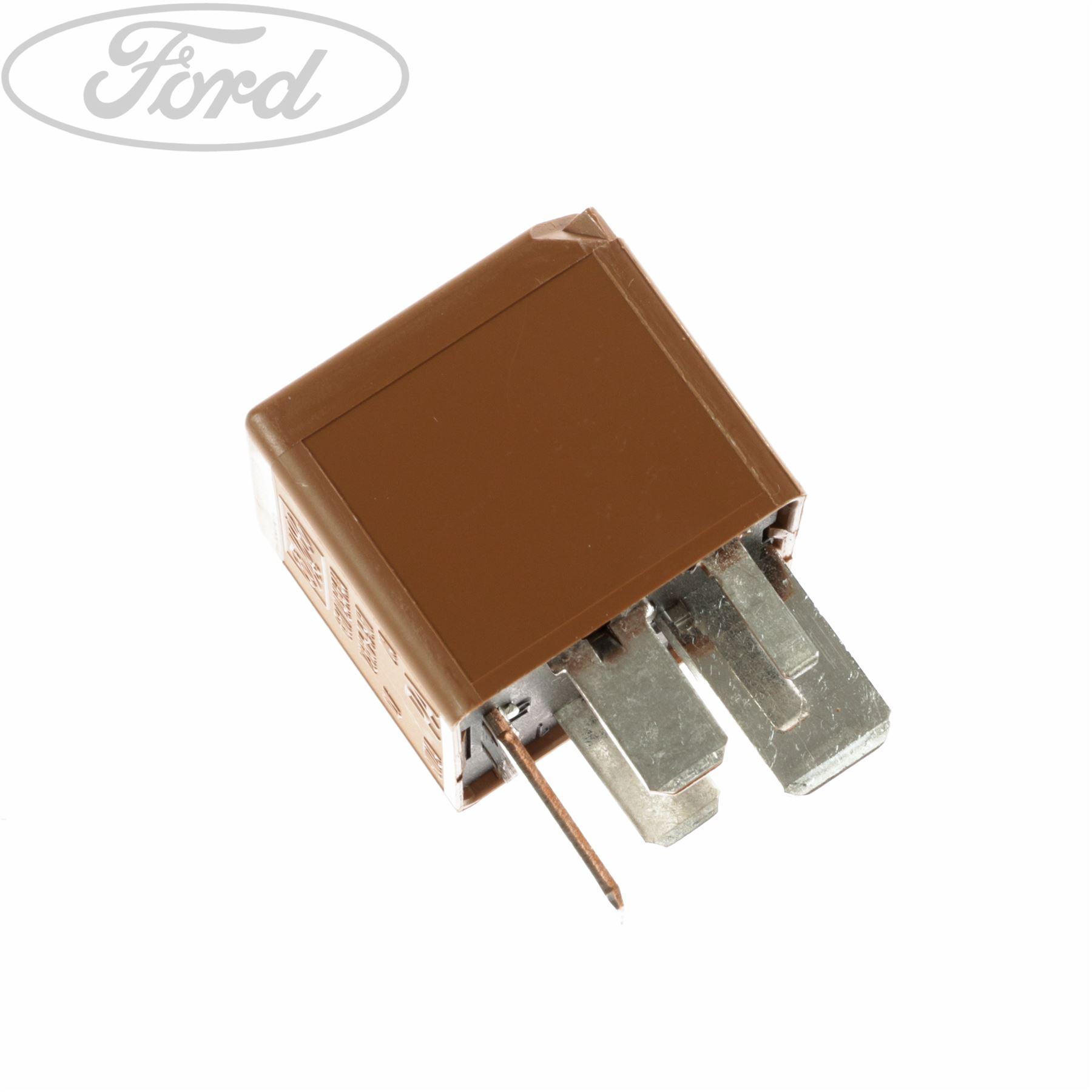 Genuine Ford Fiesta MK5 MK6 Heater Glow Plug Relay 5 Blade ...