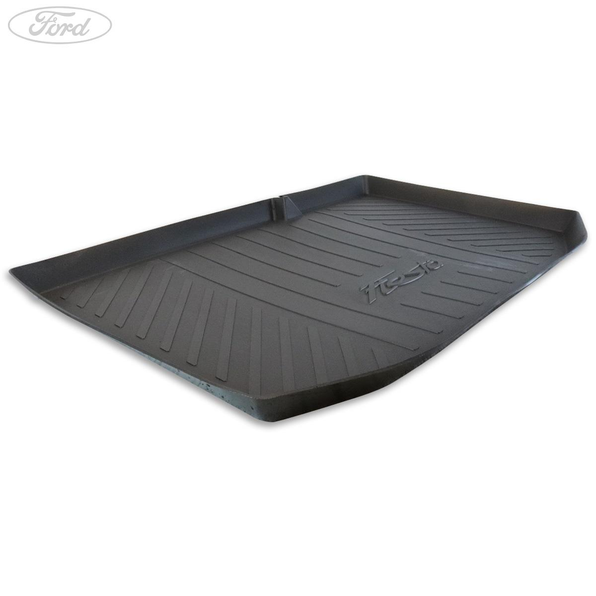 Ford Fiesta Mk7 2009-Now New Heavy Duty Rubber Fully Tailored Car Boot Mat Liner