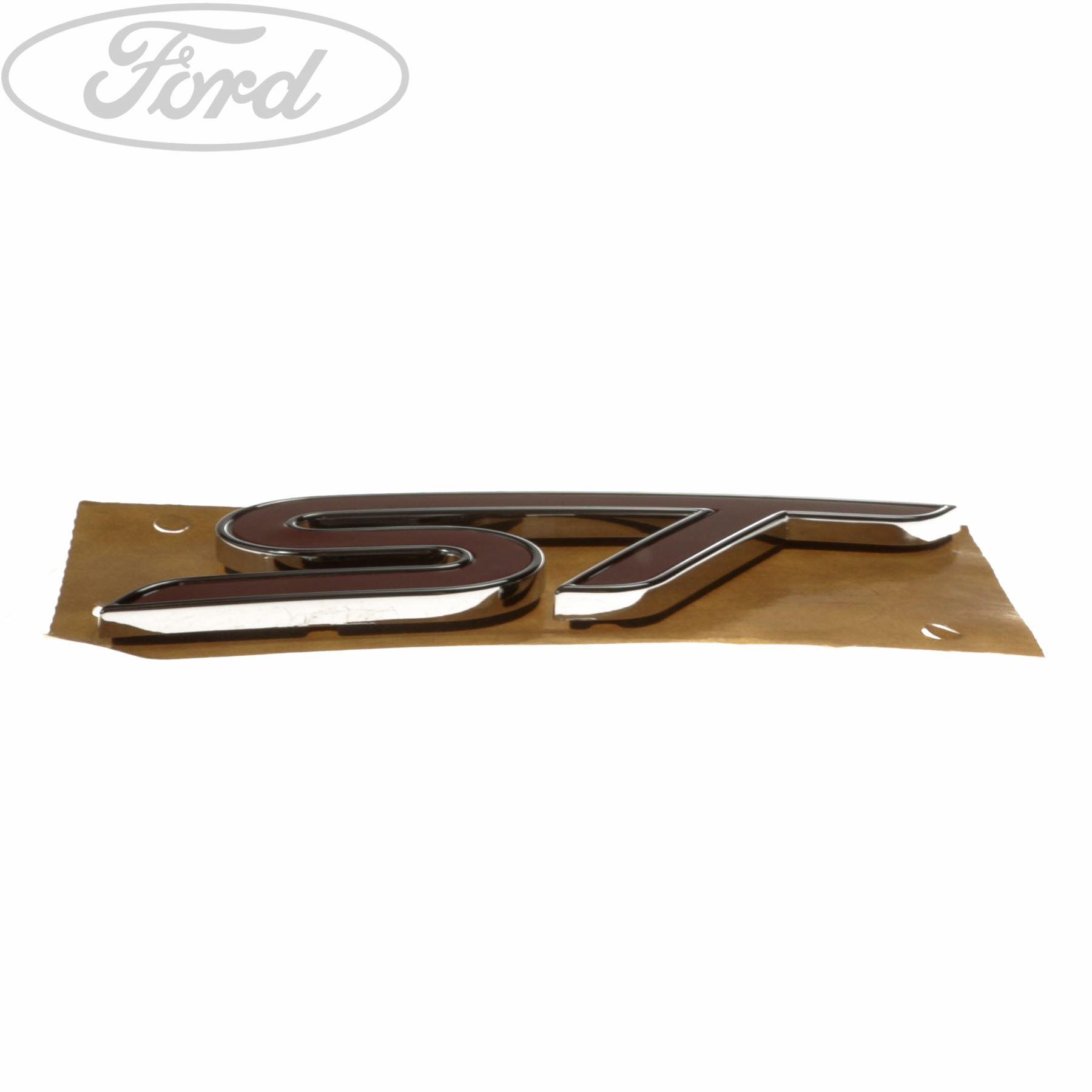 Genuine Ford Fiesta Mk7 St Tailgate Name Plate Badge