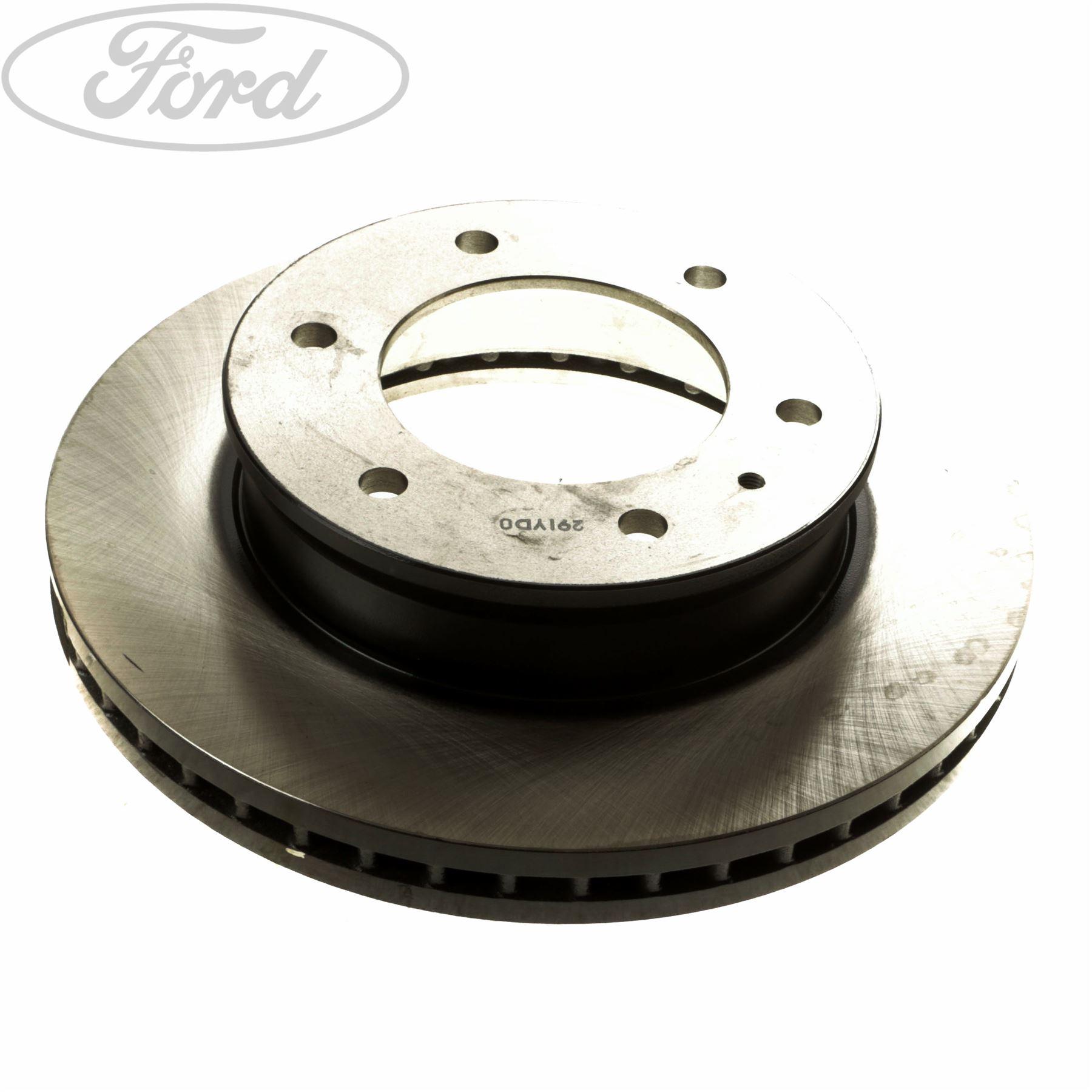 Fits Ford Transit Custom Comline 5 Stud Front Vented Brake Disc /& Pad Kit