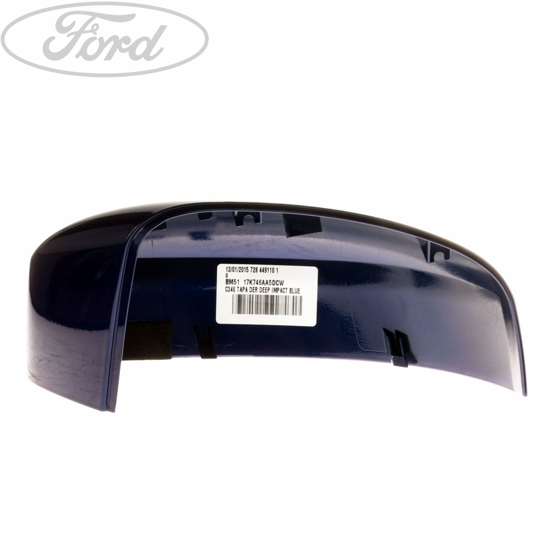 genuine ford focus mk3 front o s right wing mirror housing cap cover rh ebay co uk