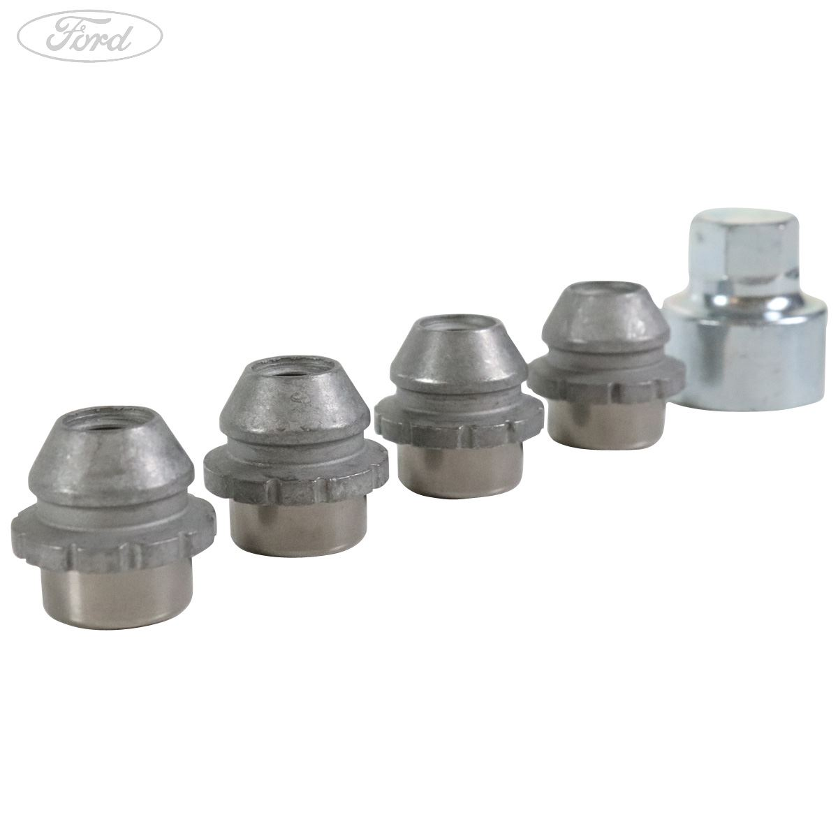 Ford Focus//Fiesta//Mondeo Locking Wheel Nut Set 1 removal key 4 locking nuts