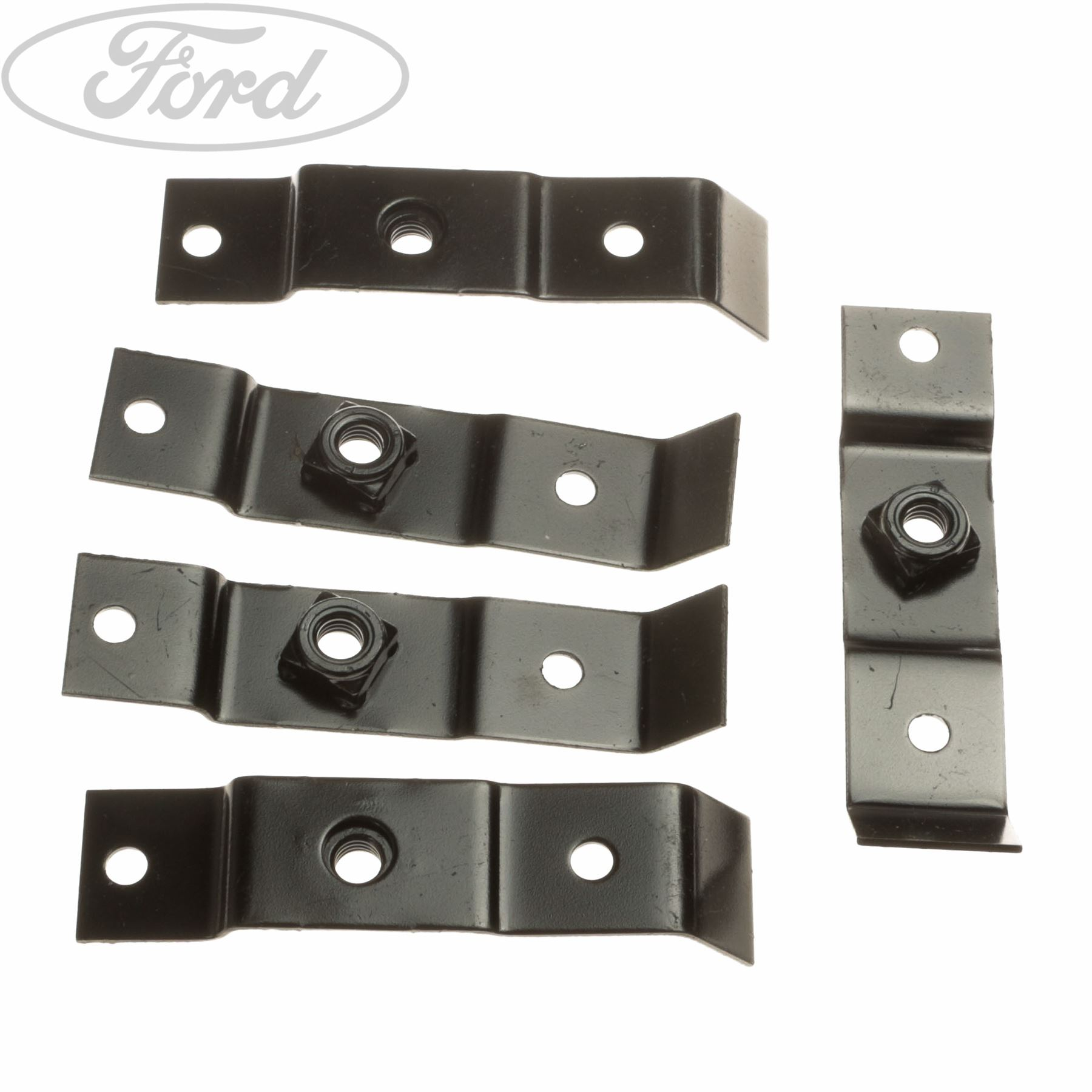 10 x YOU.S Genuine Bumper Mounting Clips for Ford Transit