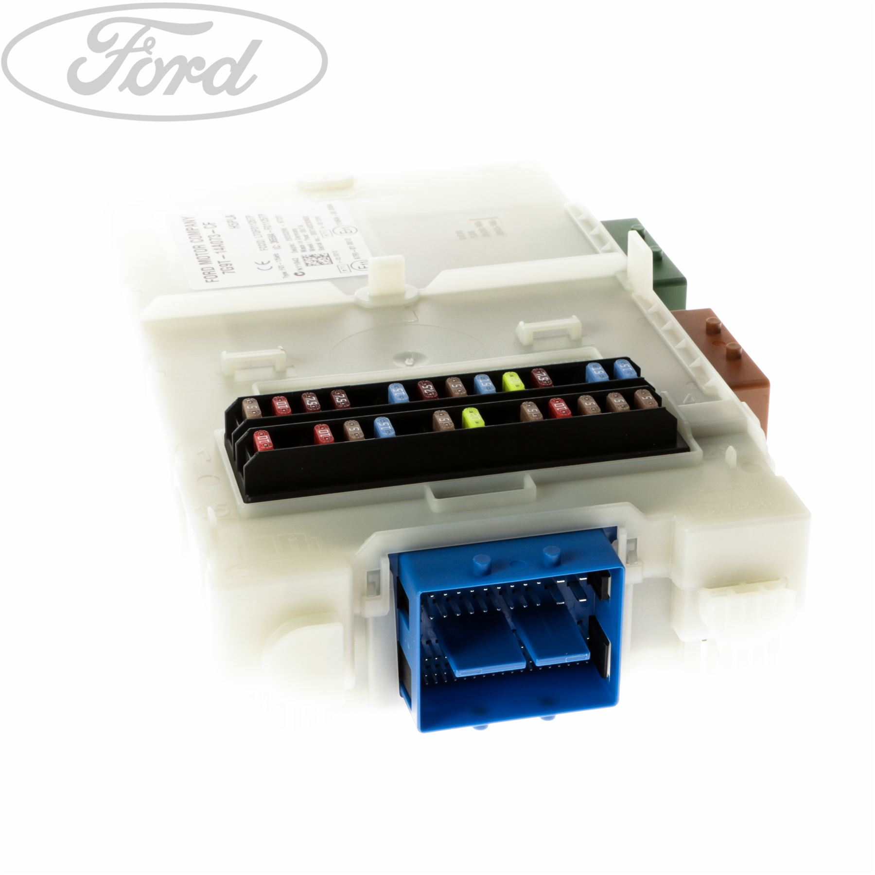 Genuine Ford Mondeo Mk4 Galaxy Wa6 S Max Fuse Junction Panel 555 Box 1681101