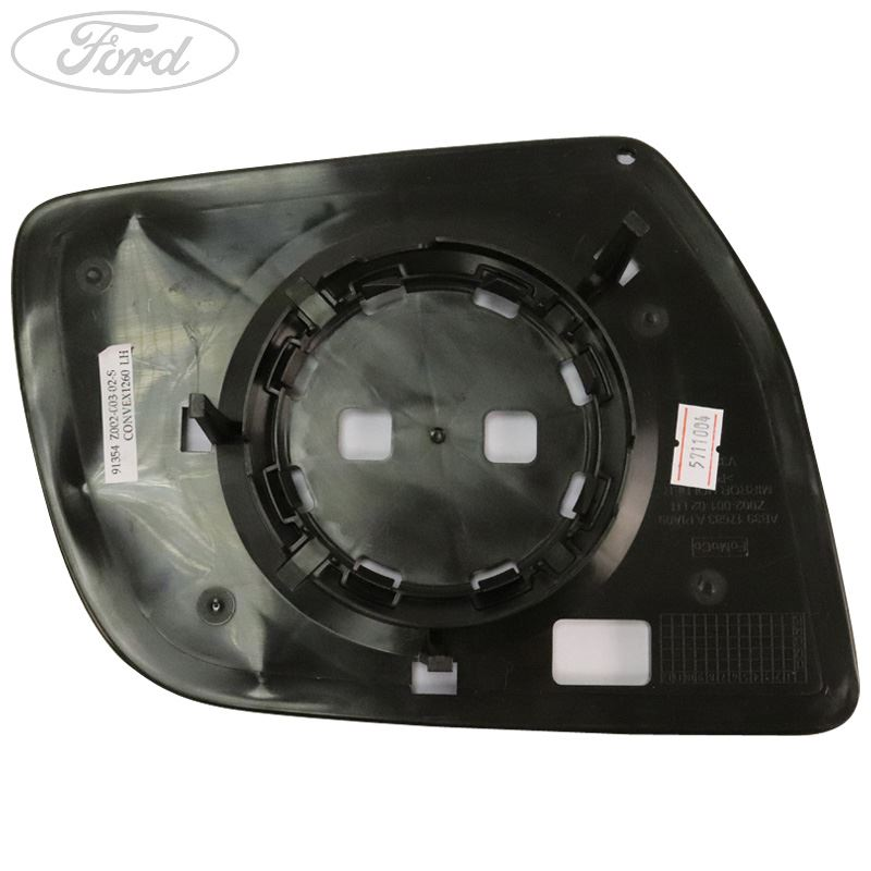 FORD RANGER 2007-2011 DIRECT WING MIRROR GLASS CONVEX HEATED PASSENGER UK