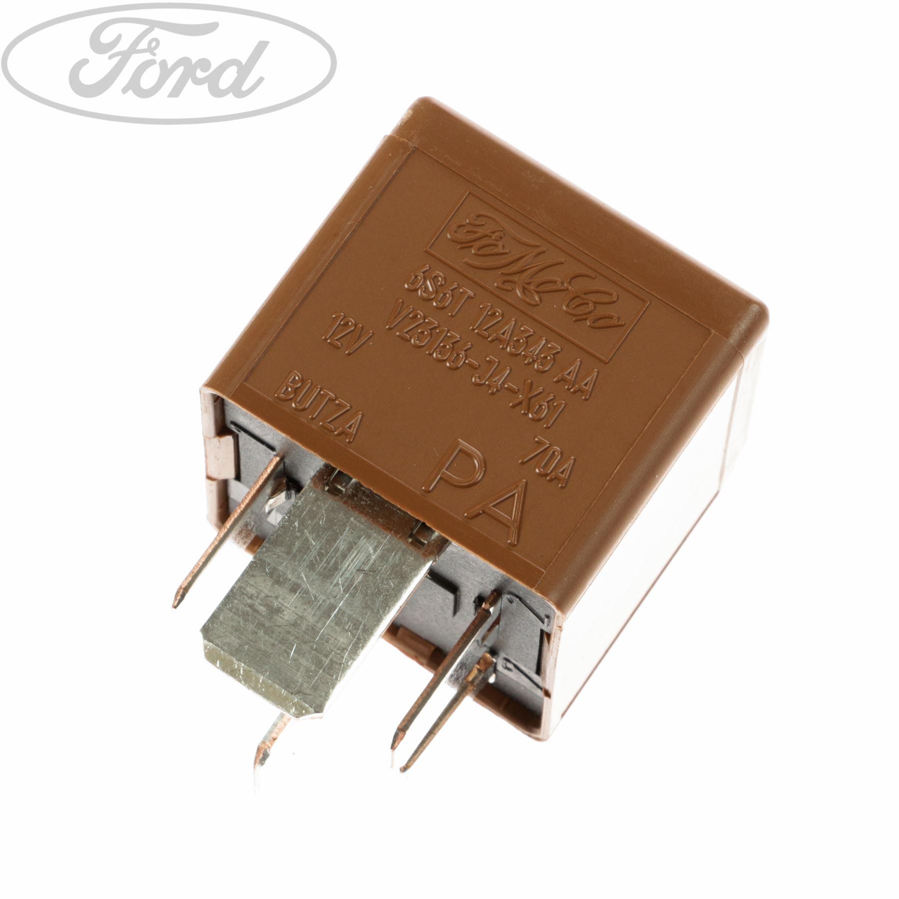 Genuine Ford Fiesta Mk5 Mk6 Heater Glow Plug Relay 5 Blade
