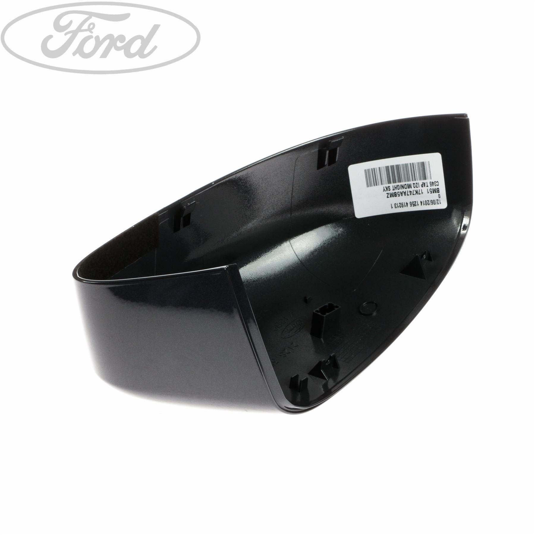 genuine ford focus mk3 front n s left wing mirror housing cap cover rh ebay co uk