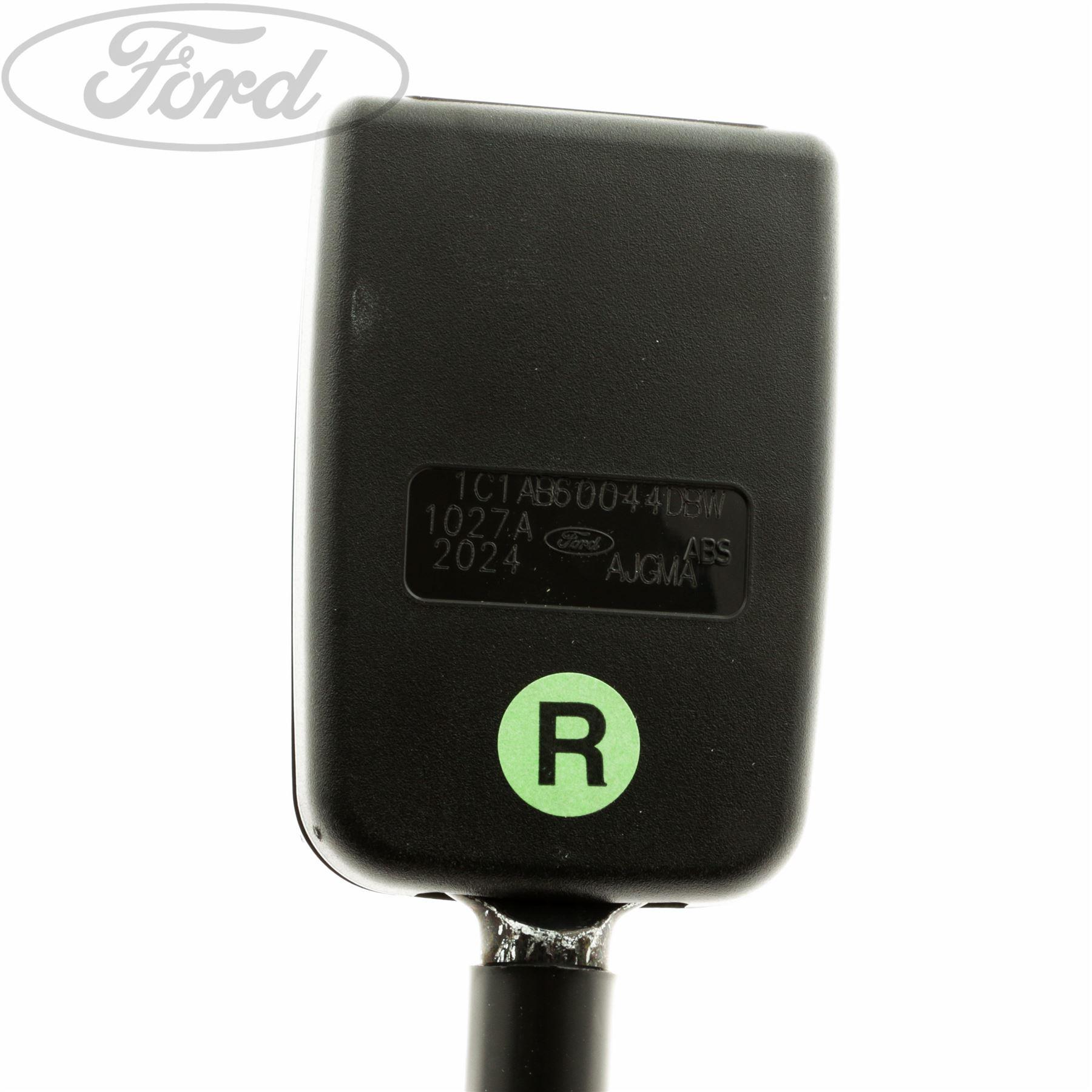 Genuine Ford Transit MK6 Rear Seat Belt Buckle 4122757