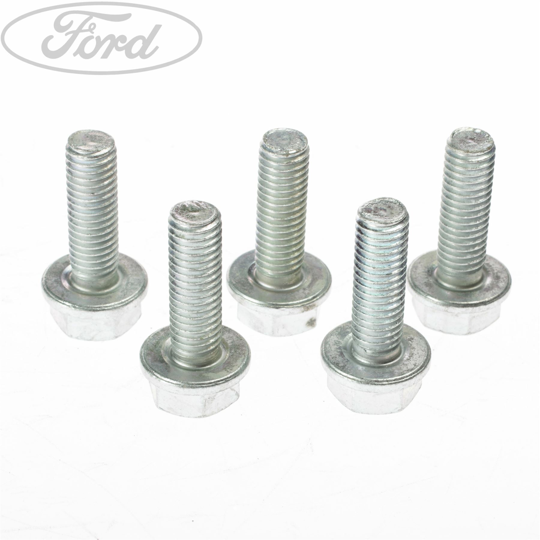 Genuine Ford Inlet Manifold Flanged Hex Bolt x5 1428647