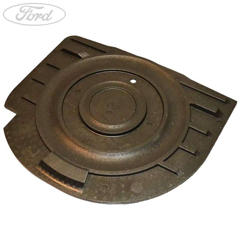 details about genuine ford fiesta mk6 fusion spare wheel well panel cover  1524316