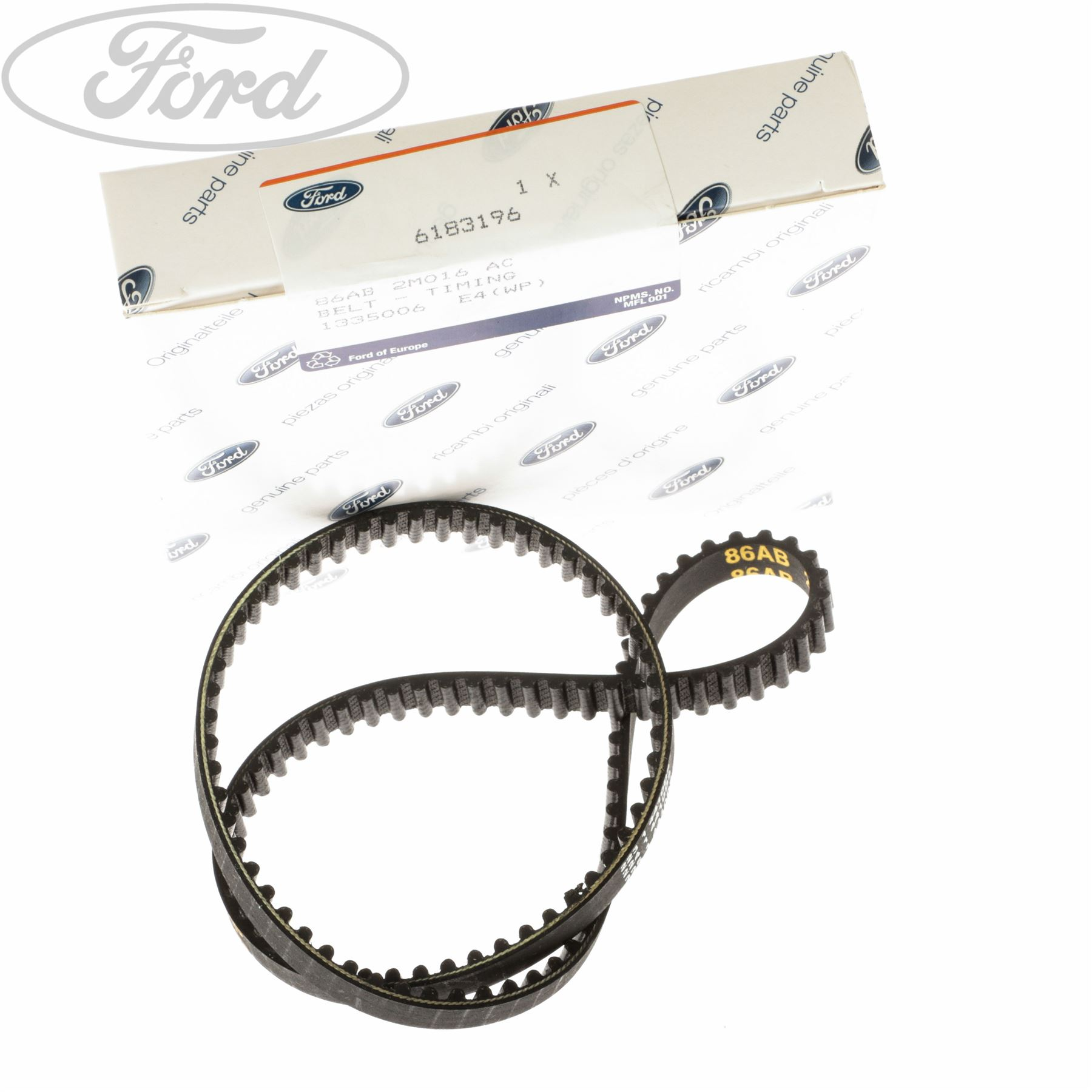 Genuine Ford Escort Mk4 Orion Mk2 Engine Timing Belt With Abs 6183196