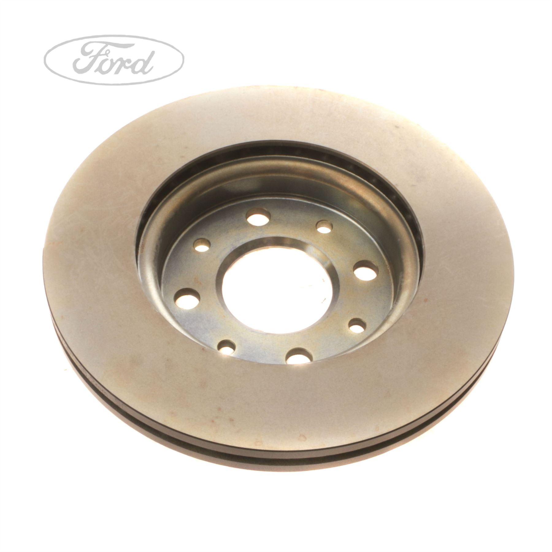 Vented 2000-2007 Ford KA 1.3 Front Brake Disc /& Pads
