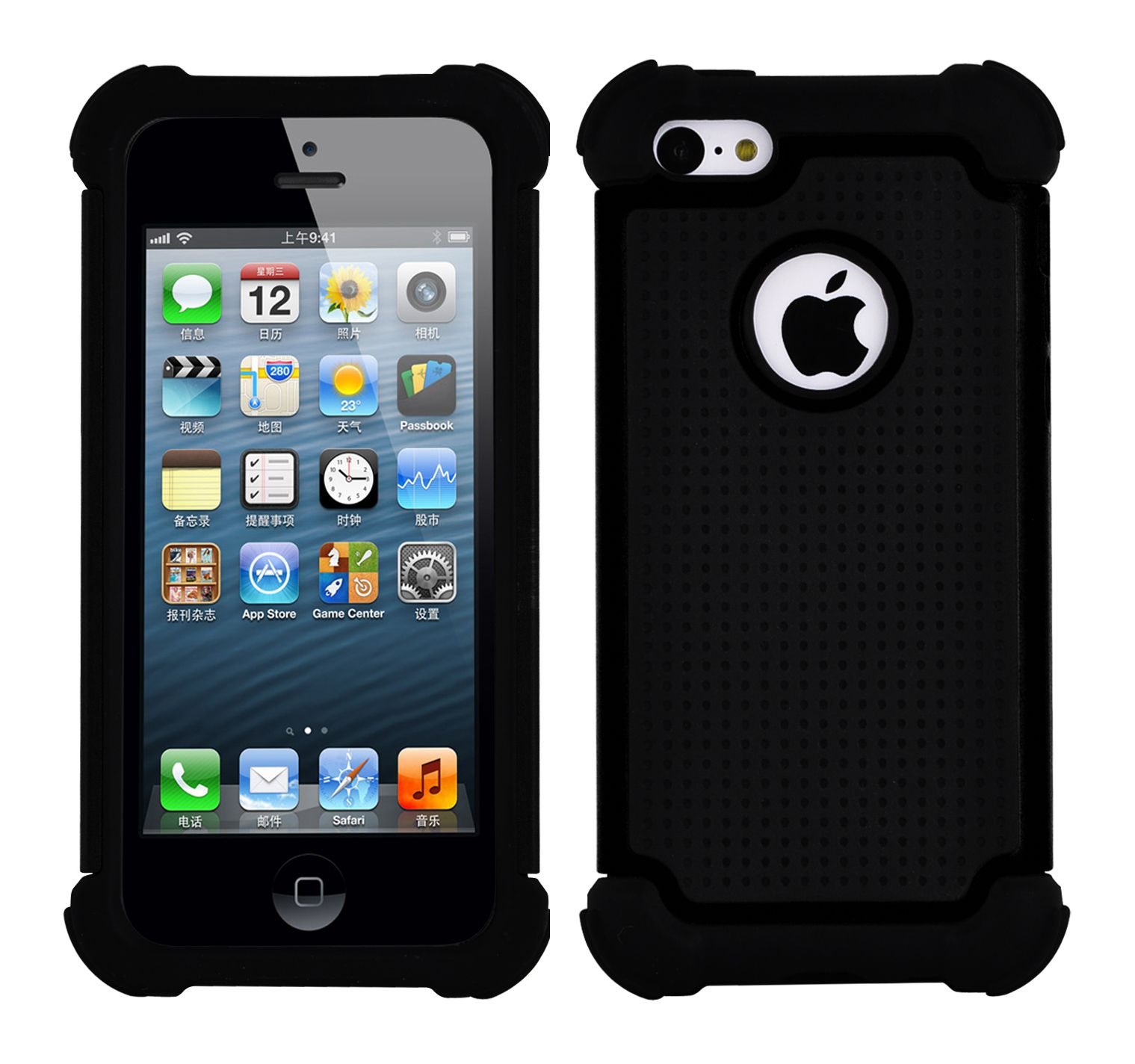 iphone 5s hard case protective heavy duty for apple iphone 5 5s thick 14809