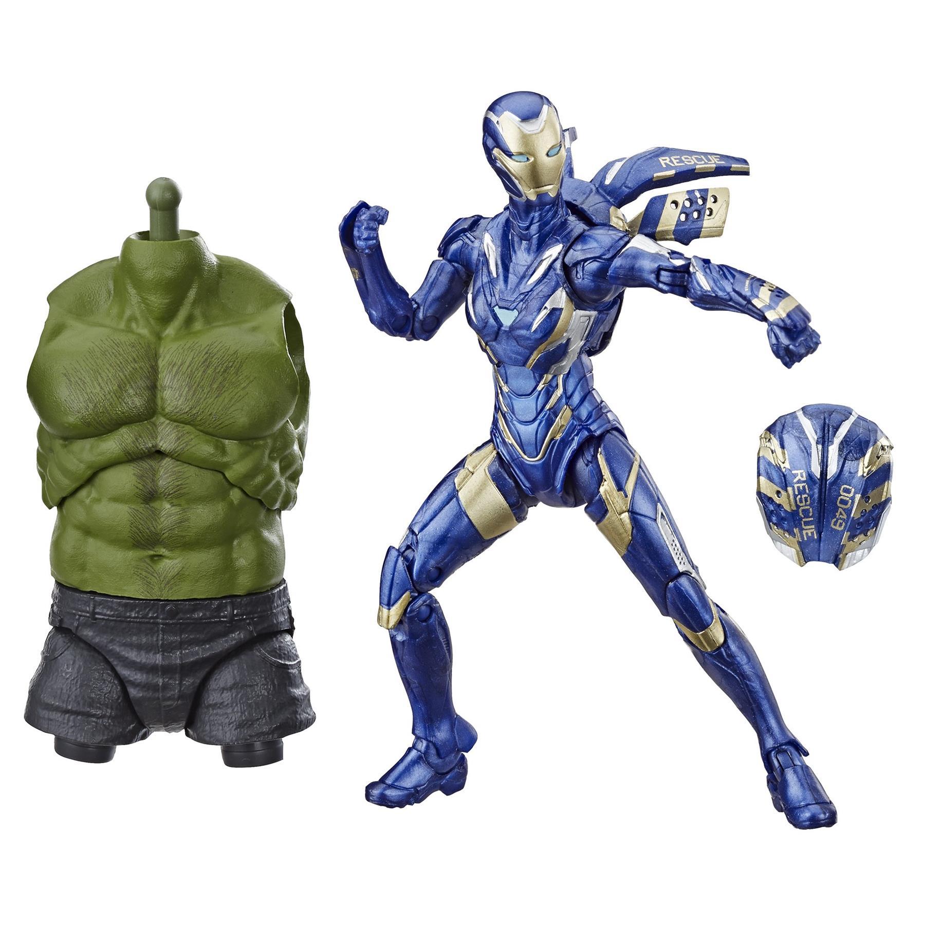 Marvel-Legends-Avengers-6-034-Action-Figures-Hulk-BAF thumbnail 7