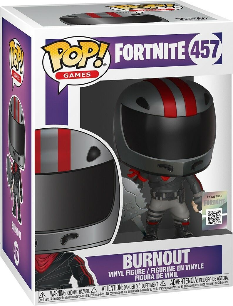 GAMES FORTNITE S2 Funko Pop BURNOUT Vinyl Figure #457