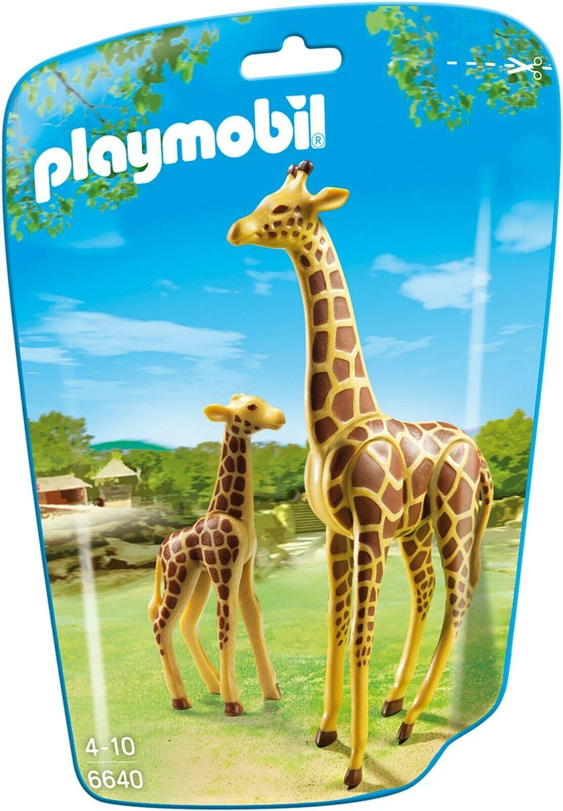 Playmobil Animals Wild Life Zoo City Life Giraffe with Calf