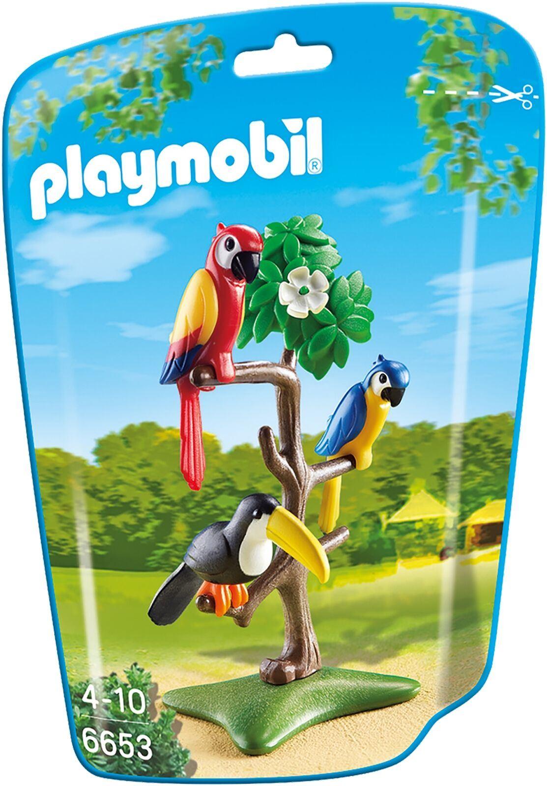 Détails Sur Playmobil 6653 Vie Sauvage Animaux Famille Accessoire Assortiment Pack Tropical
