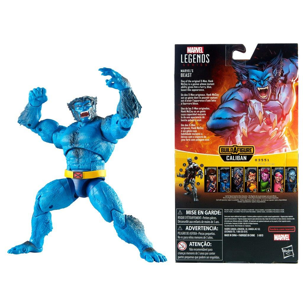 Hasbro-Marvel-Legends-X-Men-6-034-Action-Figure-Caliban-BAF thumbnail 4
