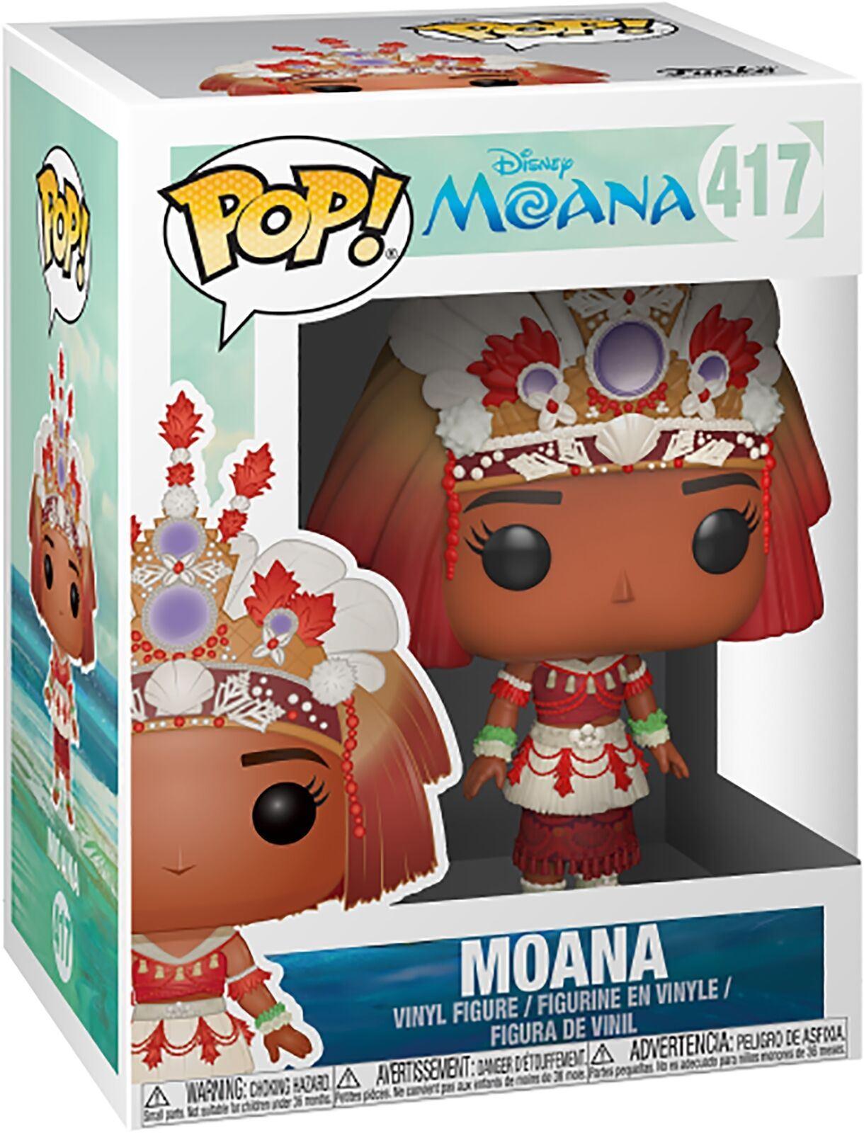 """DISNEY MOANA MOANA CEREMONY 3.75/"""" POP VINYL FIGURE FUNKO BRAND NEW 417"""